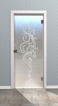 Дверь стеклянная межкомнатная Соло - Стекло матовое