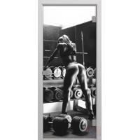 Дверь стеклянная межкомнатная Леди Фит - Стекло матовое
