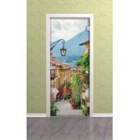 Дверь стеклянная межкомнатная Ривьера - Стекло прозрачное