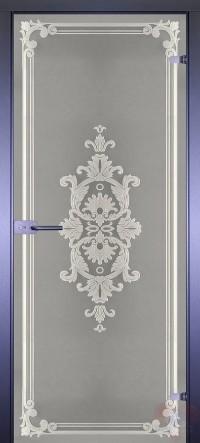 Дверь стеклянная межкомнатная Классика-8