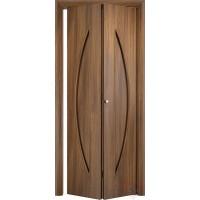 Складная межкомнатная дверь книжка С6-ДГ