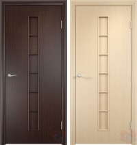 Дверь ламинированная 4Г2 - венге