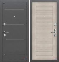 Дверь металлическая Графф Т2 Порта-21 капучино