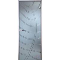 Дверь стеклянная межкомнатная Эмилия