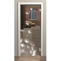 Дверь стеклянная межкомнатная Левис-1 - Стекло прозрачное