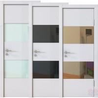 Дверь межкомнатная пвх ДО-508 Белый глянец