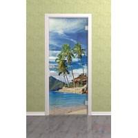 Дверь стеклянная межкомнатная Экзотик - Стекло прозрачное