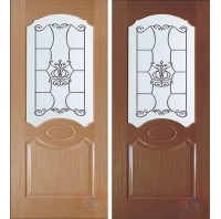 Дверь межкомнатная Селена ДО шпон