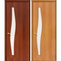 Дверь ламинированная 4С6 - остекленная