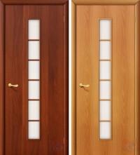 Дверь ламинированная 4С2 - остекленная