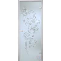 Дверь стеклянная межкомнатная Амариллис