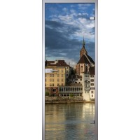 Межкомнатная стеклянная дверь Прованс